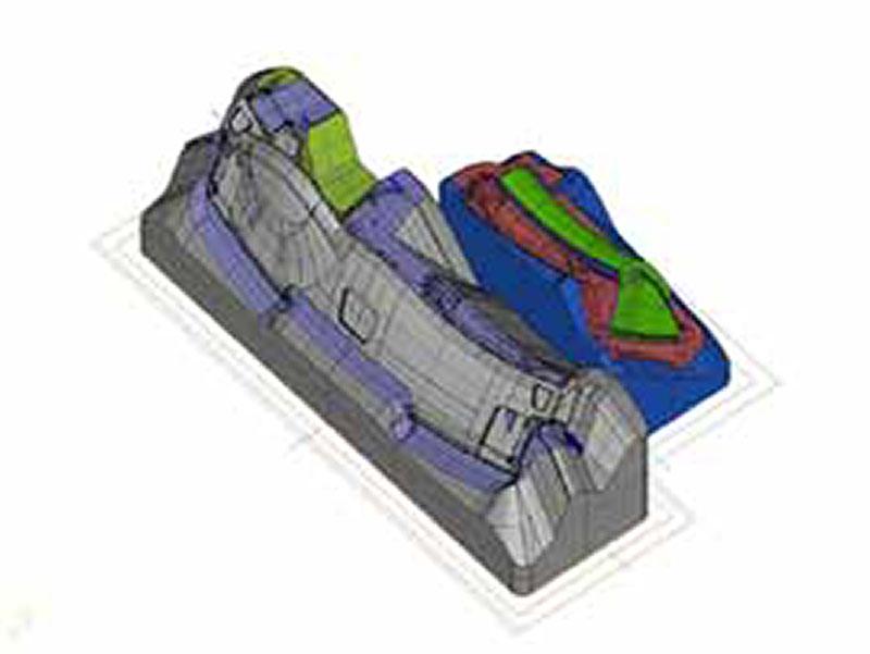 3次元CAD マスターモデル 設計図 木型