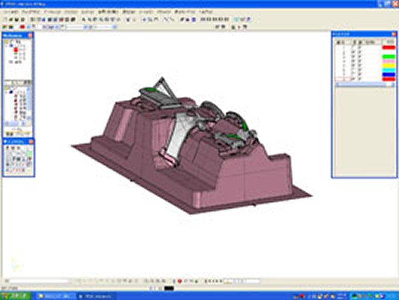 電鋳型木型モデルCADデータ