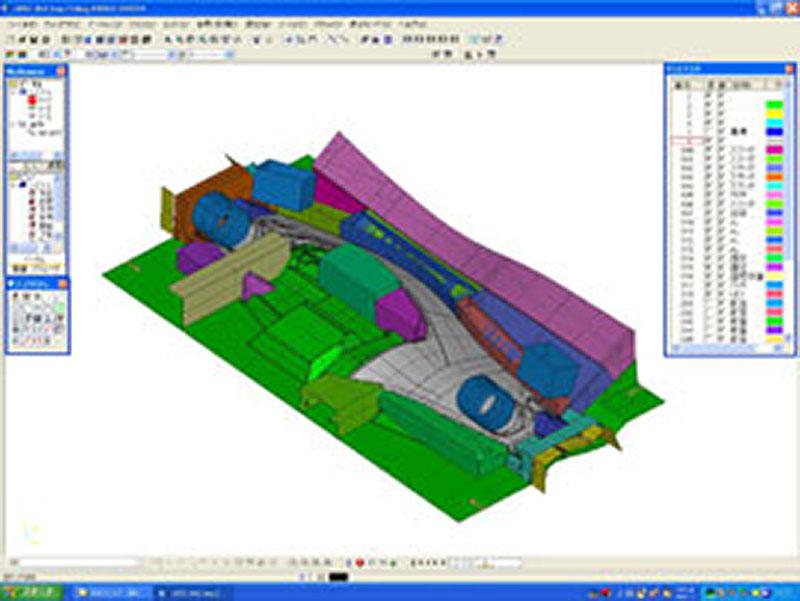 発泡型木型モデルCADデータ