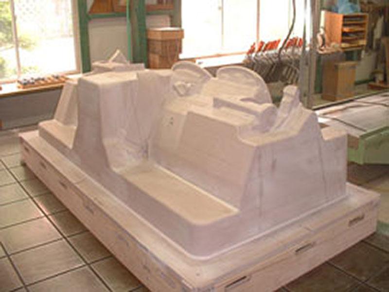 電鋳型木型モデル