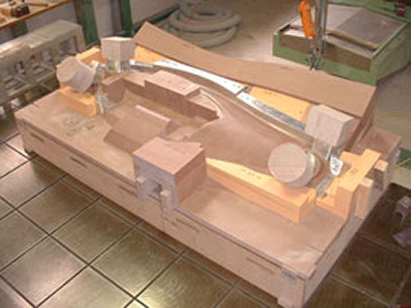 発泡型木型モデル