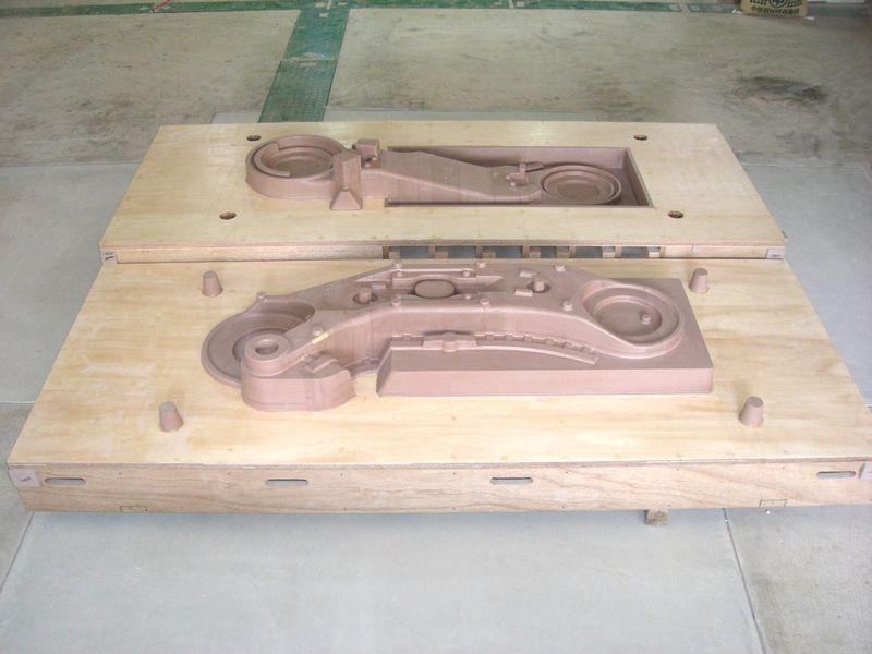 鋳造用木型モデル母型