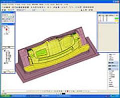 SPACE-E/CADにてNCデータ作成工程 マシニング・5軸加工