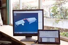寸法検査システムの新システムの導入