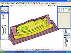 3次元CADによる加工データ作成