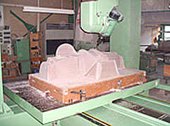 マスターモデル 5軸加工 木型